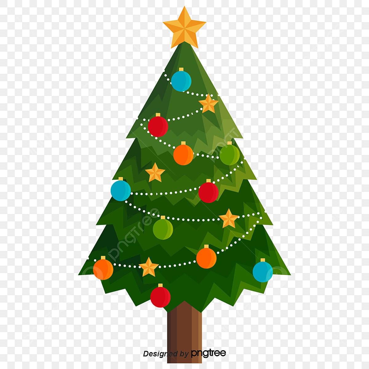 Pendurado Luzes Da Arvore De Natal Dos Desenhos Animados A