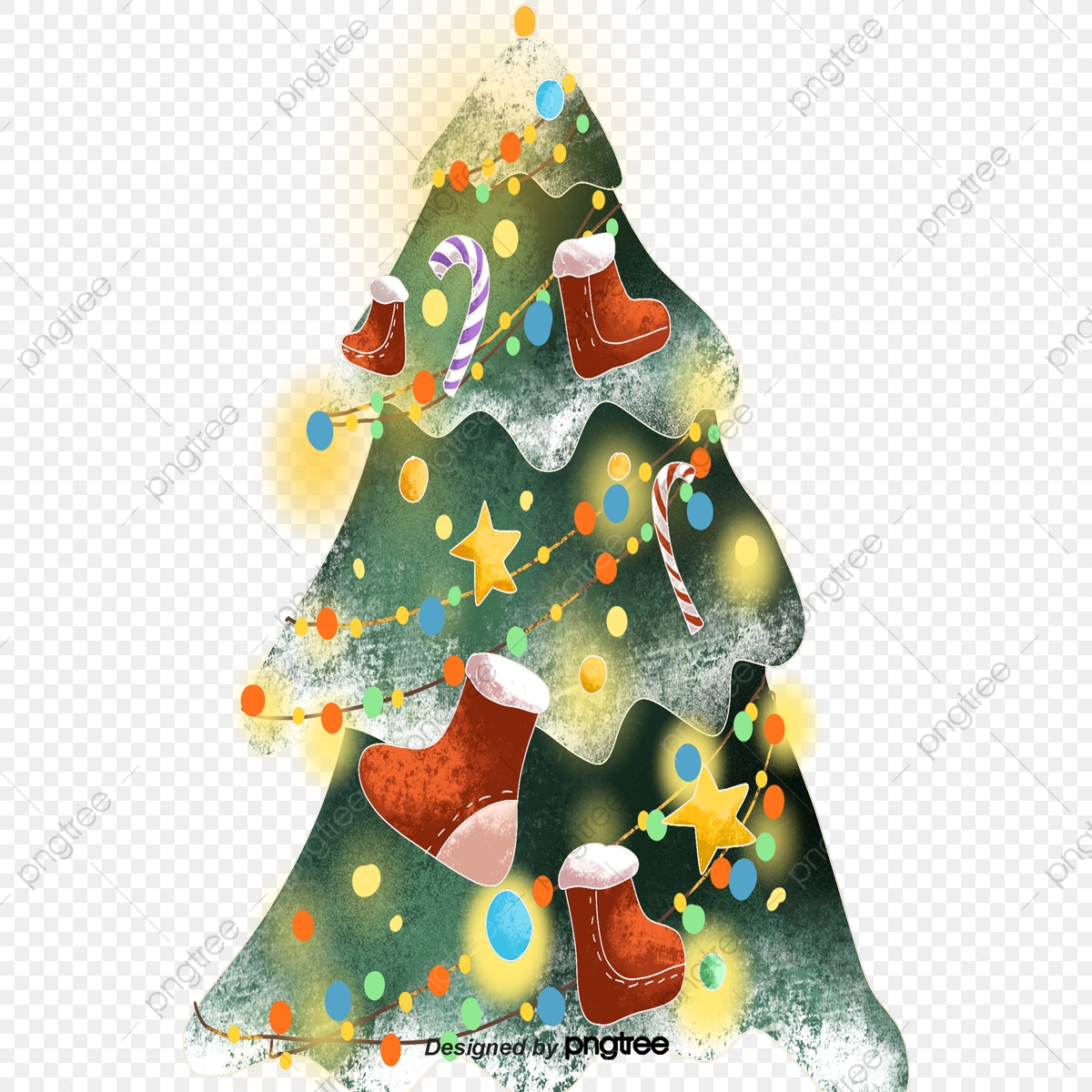 cartoon christmas trees cartoon christmas tree christmas png transparent clipart image and psd file for free download https pngtree com freepng cartoon christmas trees 4283625 html