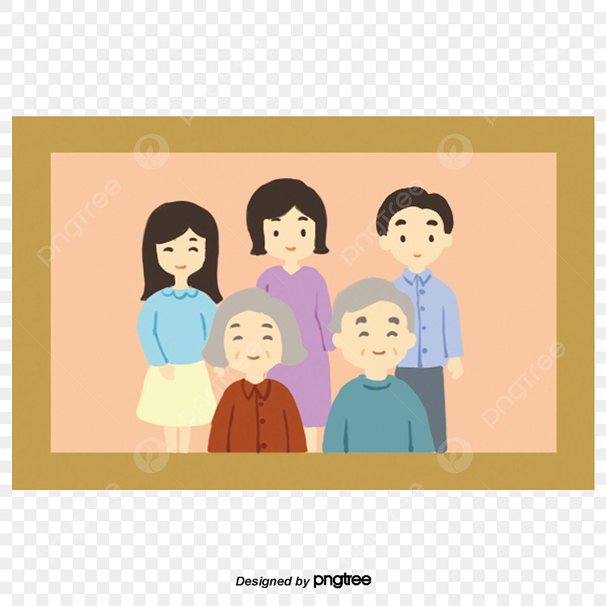 55 Gambar Kartun Foto Keluarga Gratis Gambar Kantun