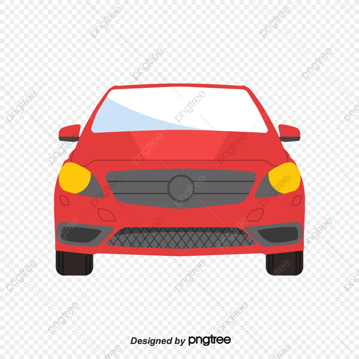 Cartoon Red Face Map Car Vehicle Cartoon Running Png And Vector With Transparent Background For Free Download