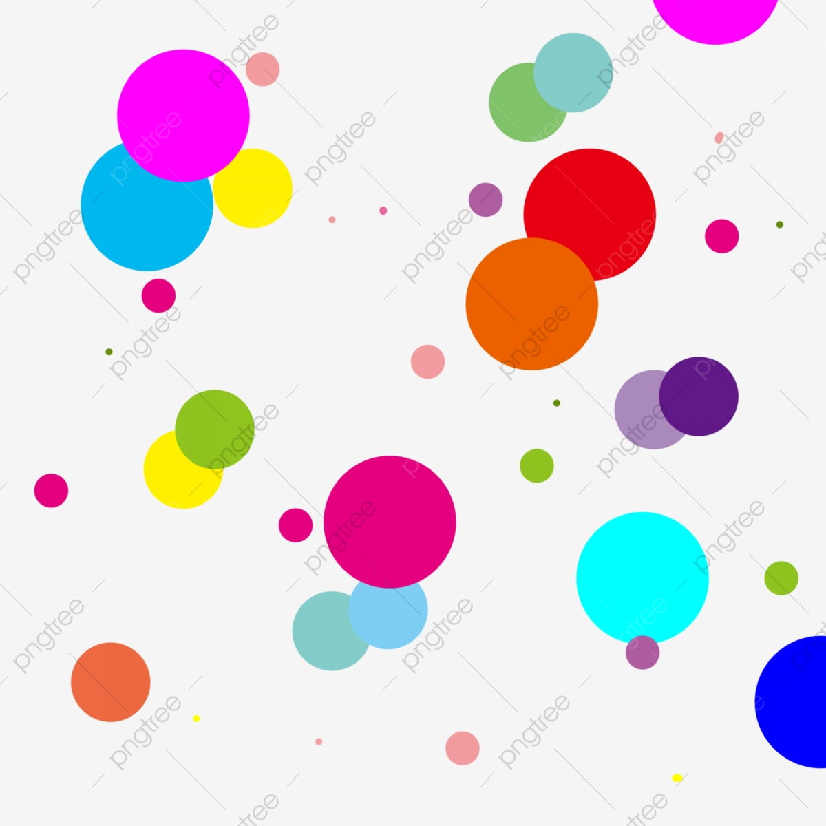 Colorful Abstract Dot Spot Desktop Wallpaper Colorful