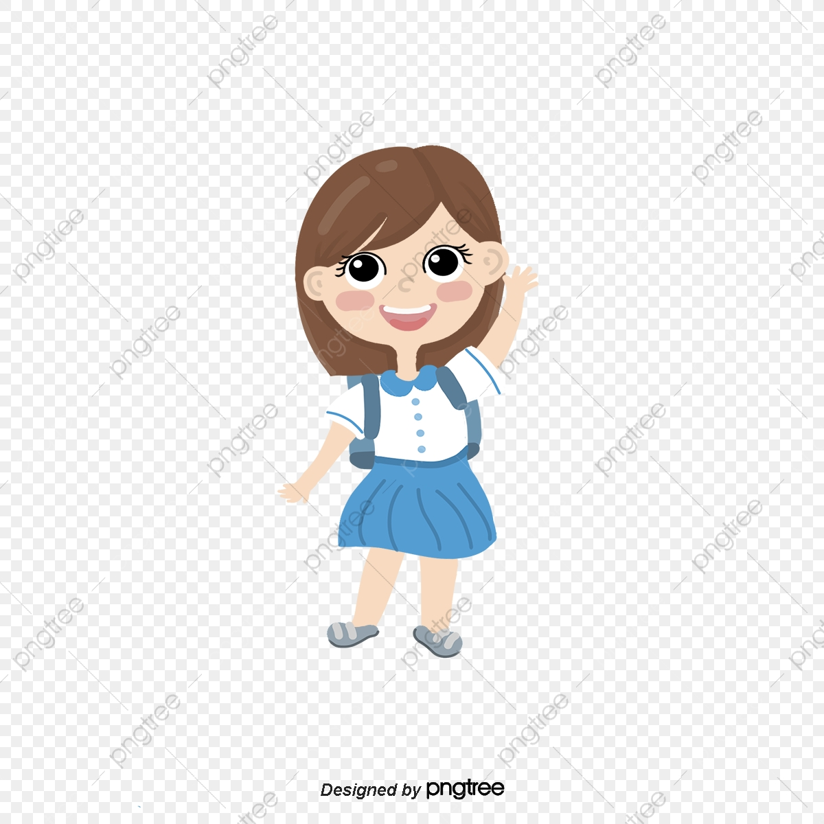 Cartoon Girl Png Images Vector And Psd Files Free Download On Pngtree