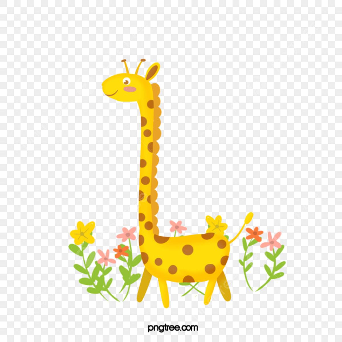 Desenho De Girafa Linda Animal Ilustracao De Animais Cartoon