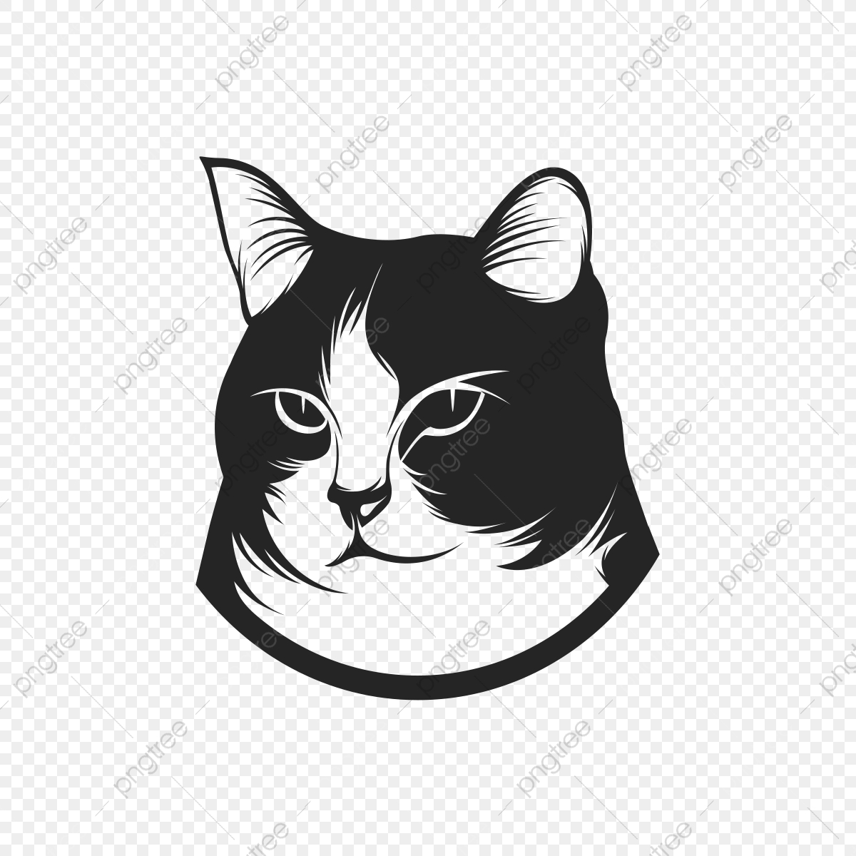 Exclusive High Vector Cat Illustration Png Art Ad Promotion Advertising Png And Vector With Transparent Background For Free Download