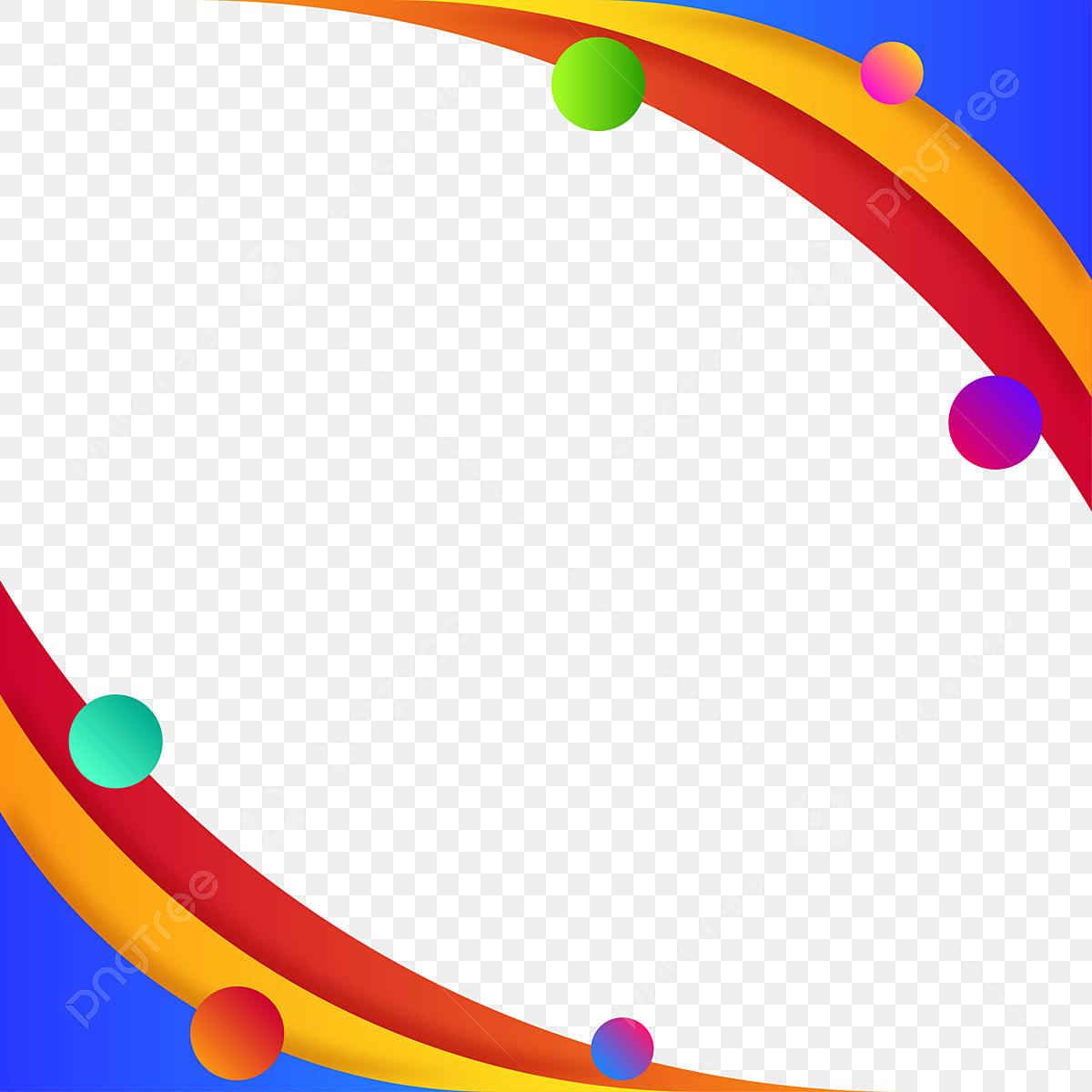 إطارات هندسية ملونة مع تكوين دائرة التوضيح خلفية دائرة نبذة مختصرة Png والمتجهات للتحميل مجانا