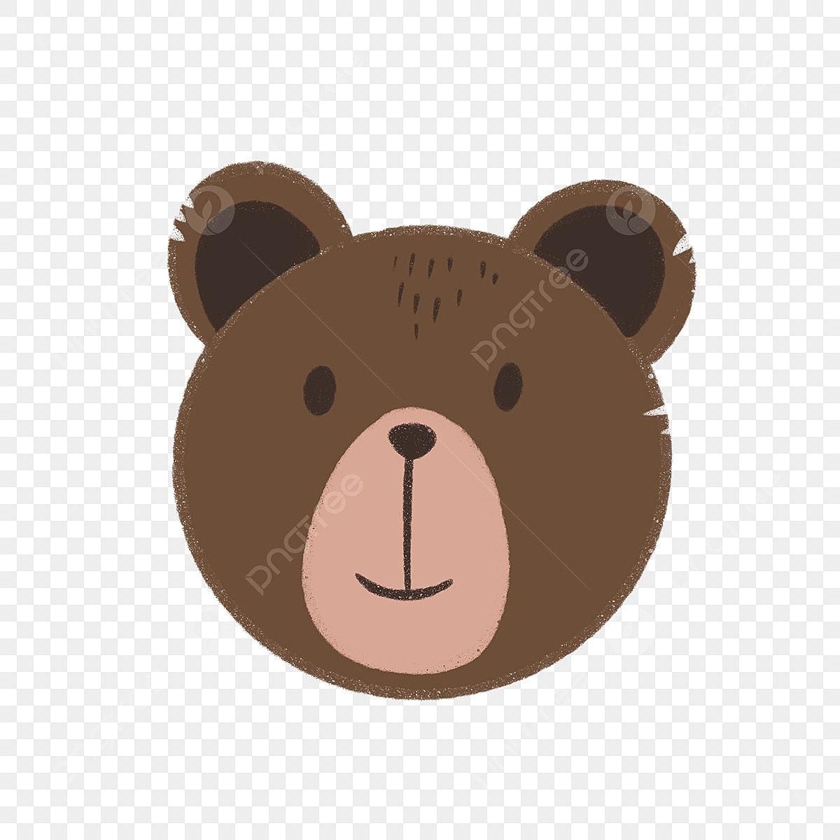 Lukisan Tangan Beruang El Muka Haiwan Bear Binatang