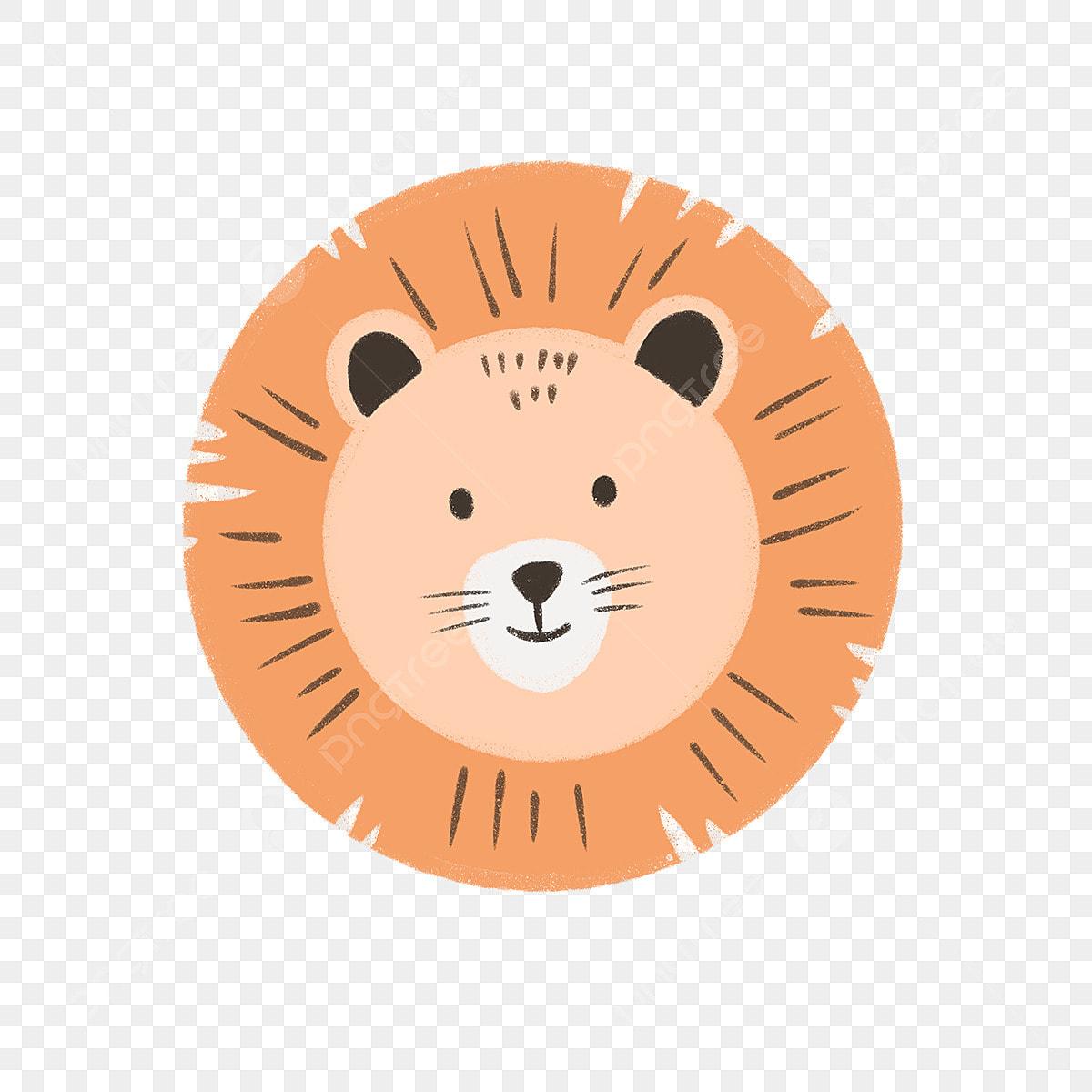 Tangan Ditarik El Wajah Singa Haiwan Binatang El