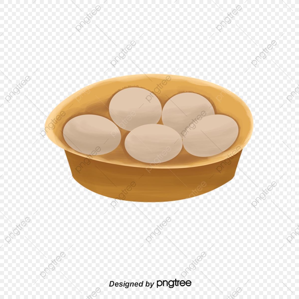 Lukisan Tangan Gaya Makanan Telur Lukisan Tangan Gaya Plat