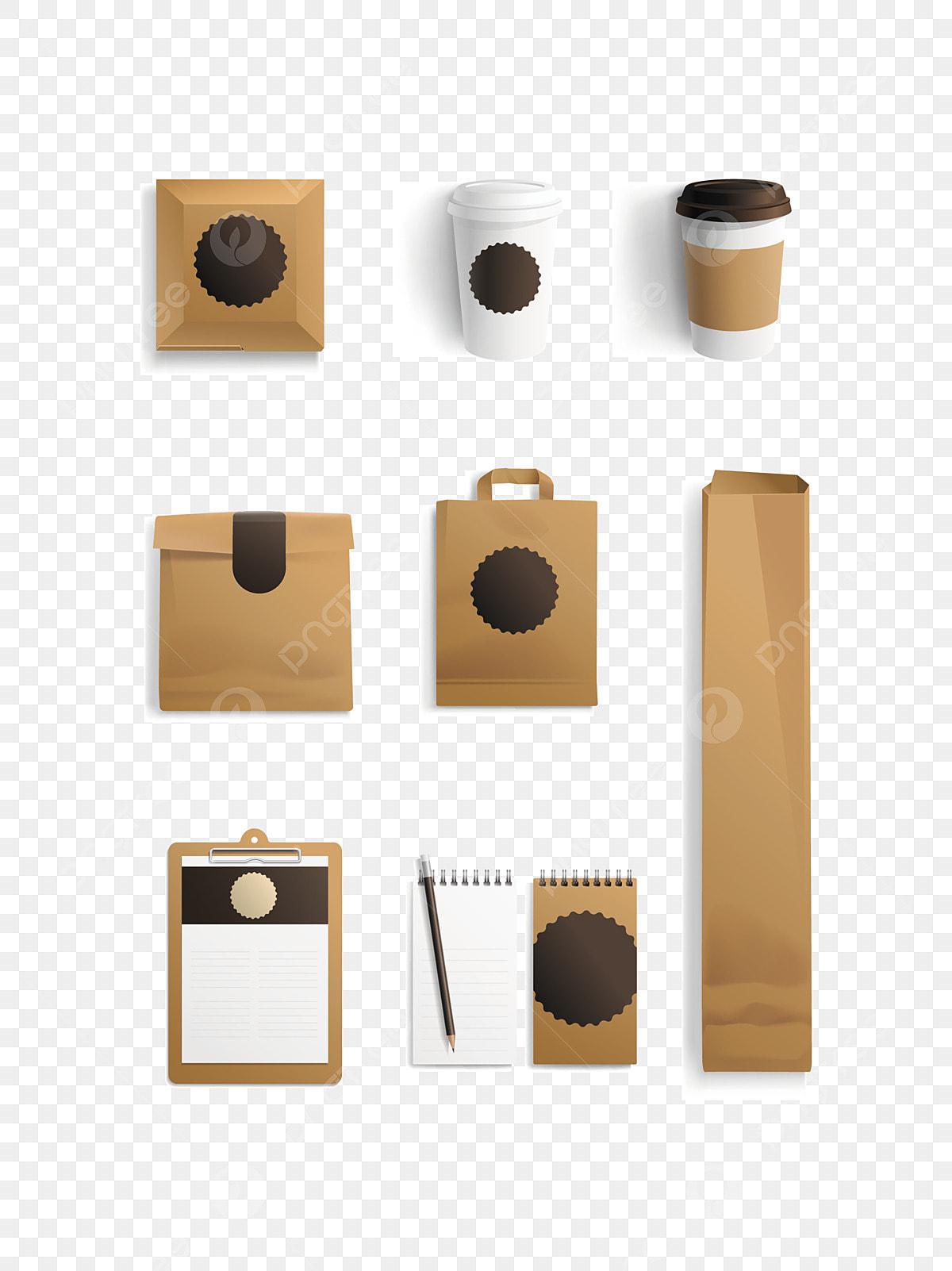 Kraft Paper Blank Packaging Prototype