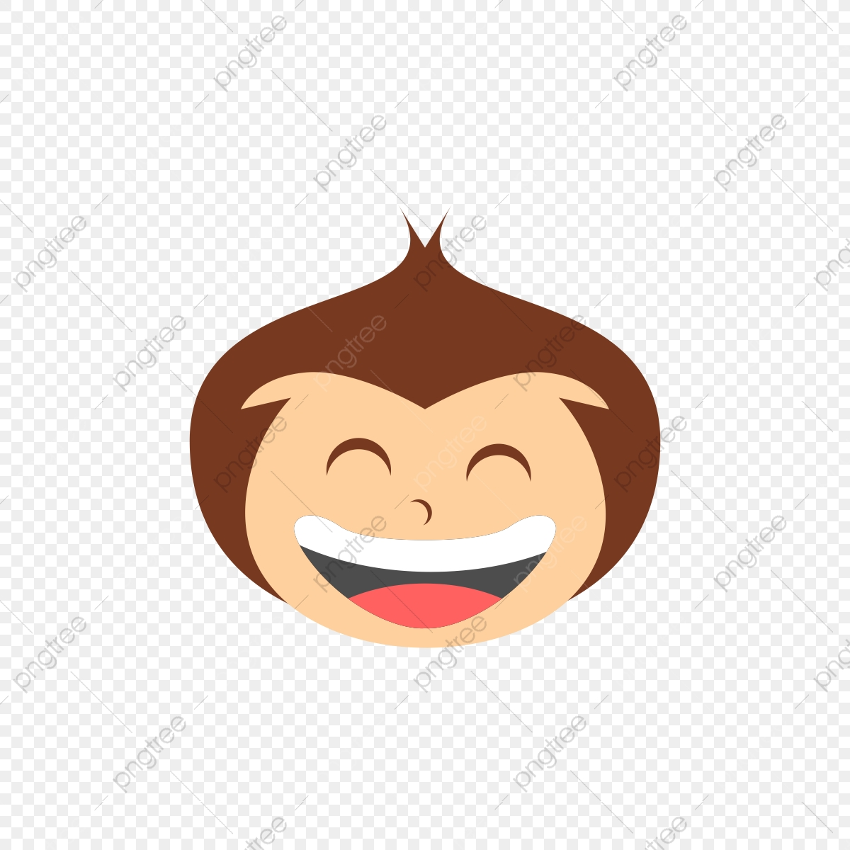 Monkey Cartoon Design Graphic Vector Png And Vector With