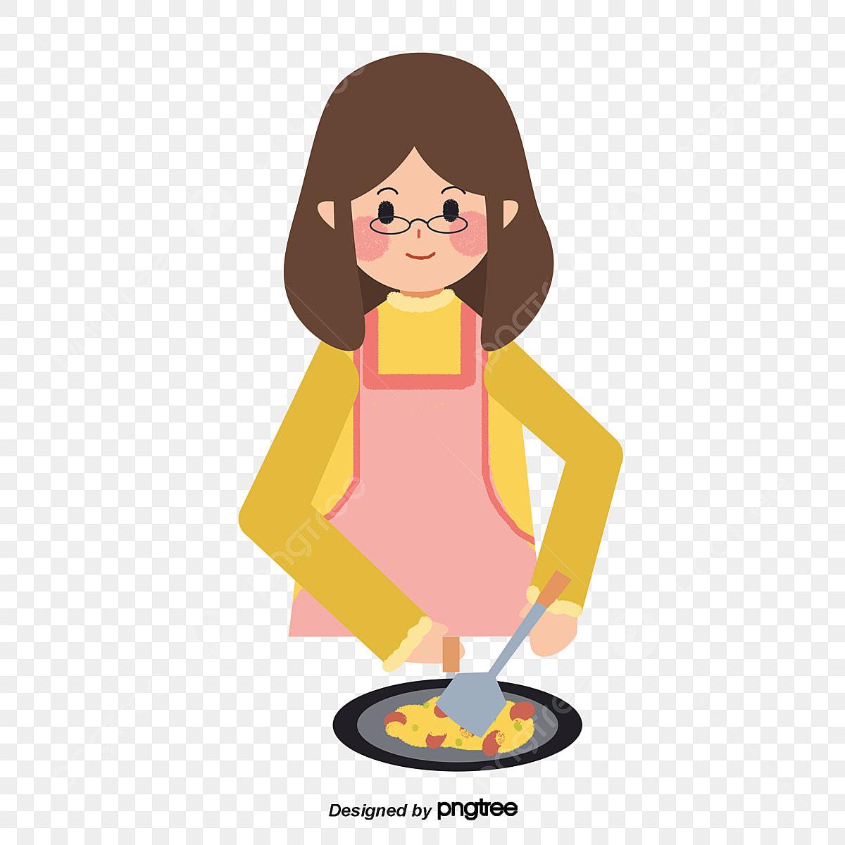 Gambar Ibu Dikelilingi Apron Memasak Memasak Dapur Apron Png Dan Psd Untuk Muat Turun Percuma