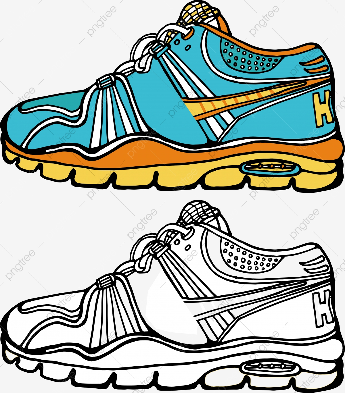 Cartoon Sneaker IllustrationSneakersNikeVector Nike Sneaker Nike nXNwPZkO80