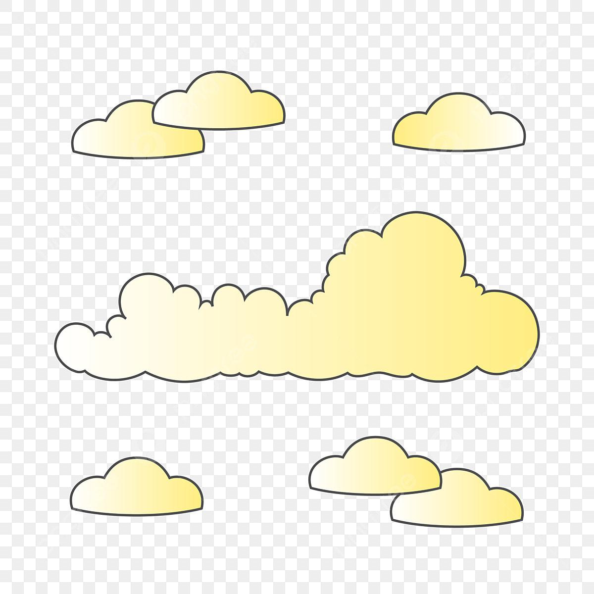 Kleine Wolken Clip Art Png Transparent, Wolken, Wolken Clipart, Wolken Clip  Art PNG und PSD Datei zum kostenlosen Download