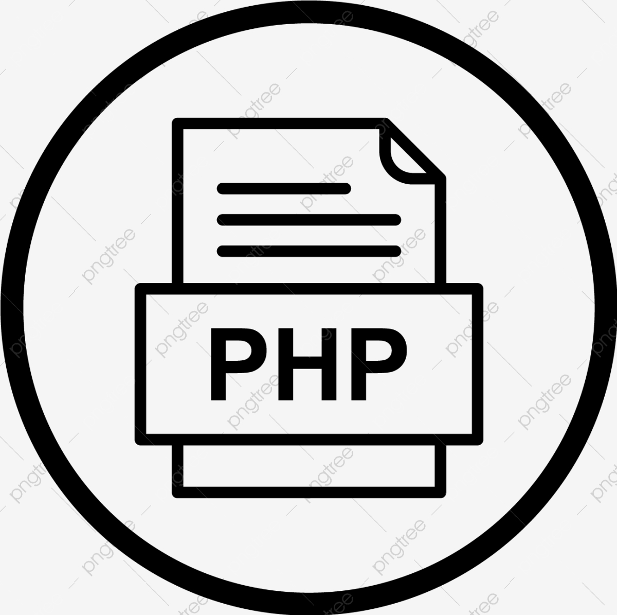 PHP Page - Free interface icons   1195x1200