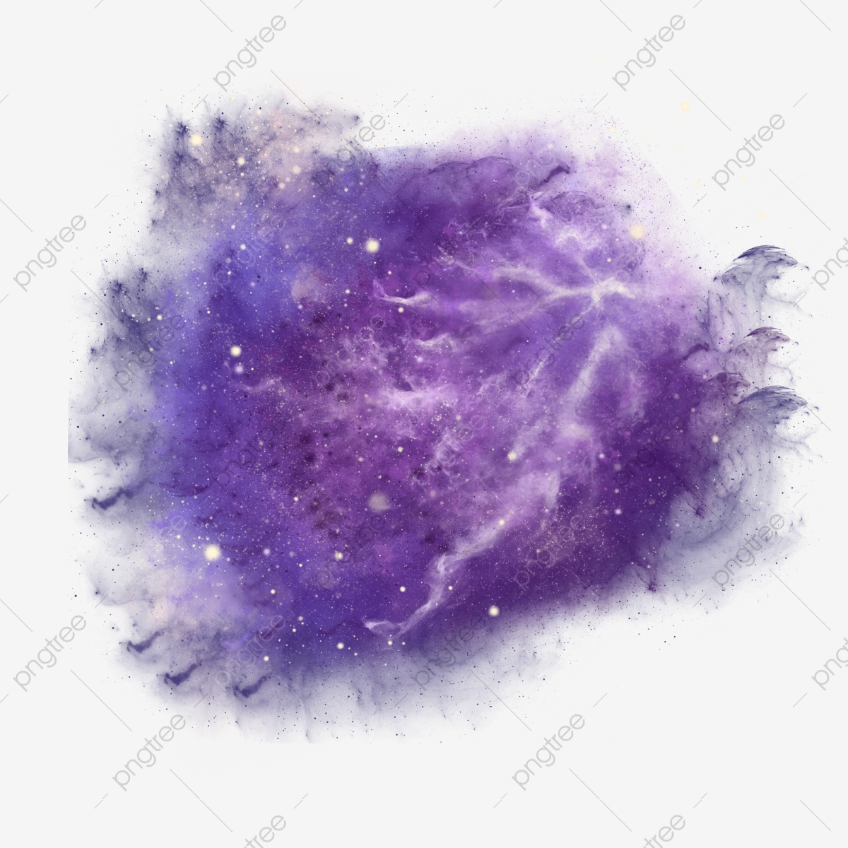 Purple Space Background With Planet Background Abstract