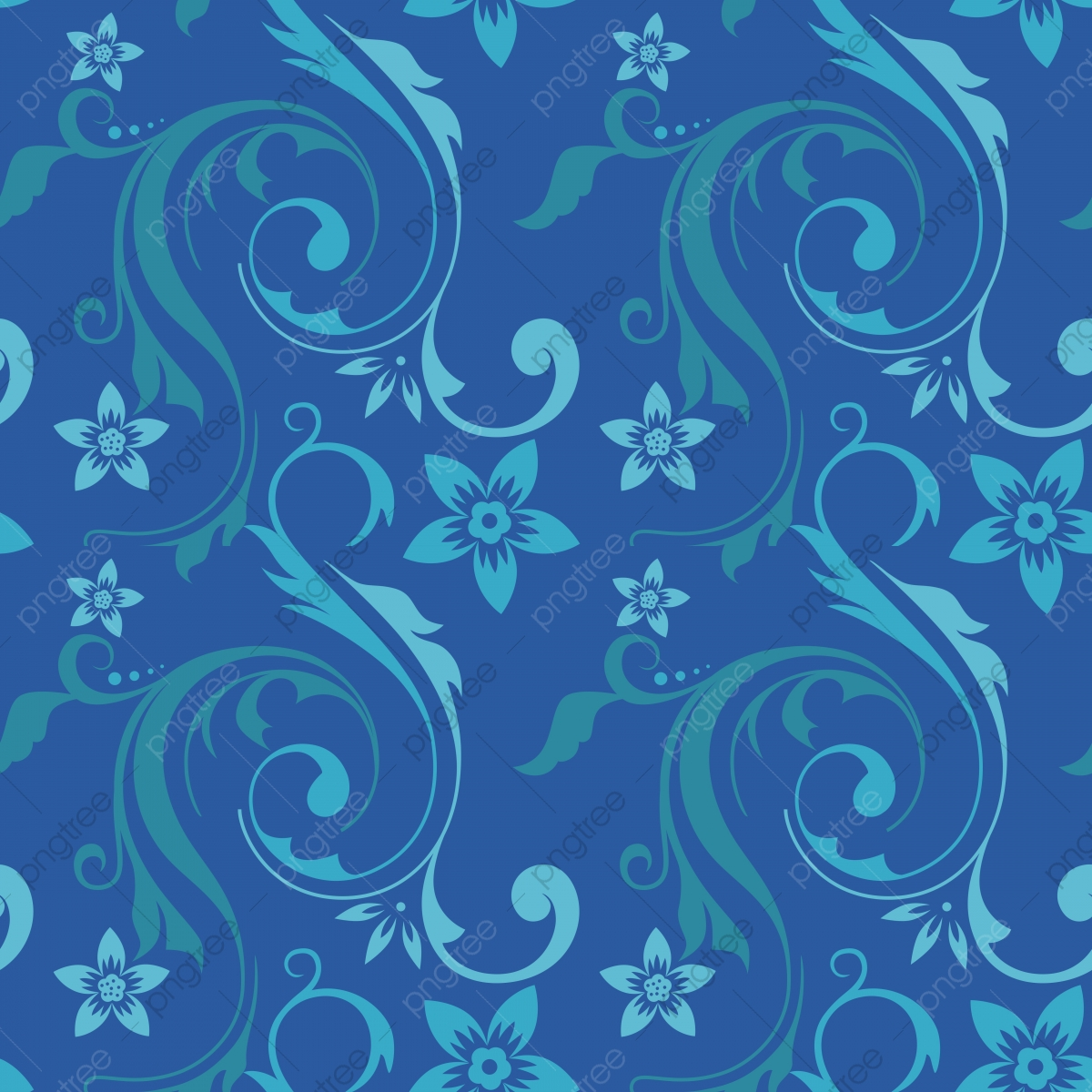 Seamless Elegant Floral Pattern For Wallpaper William Pattern
