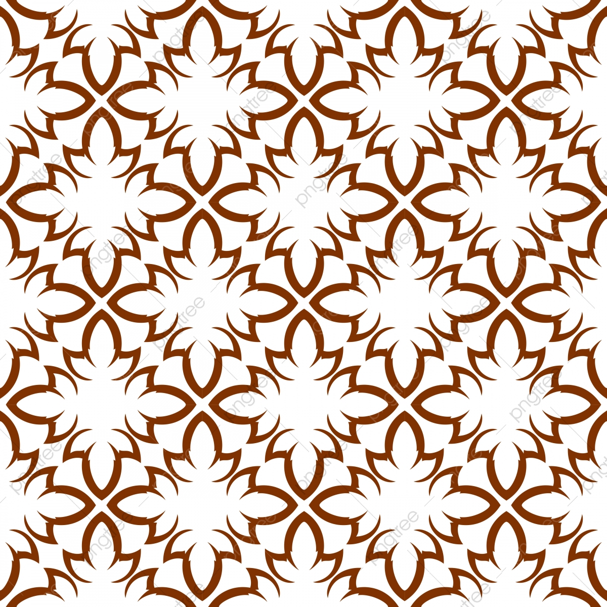 Seamless Pattern Seamless Background Simple Floral Tile