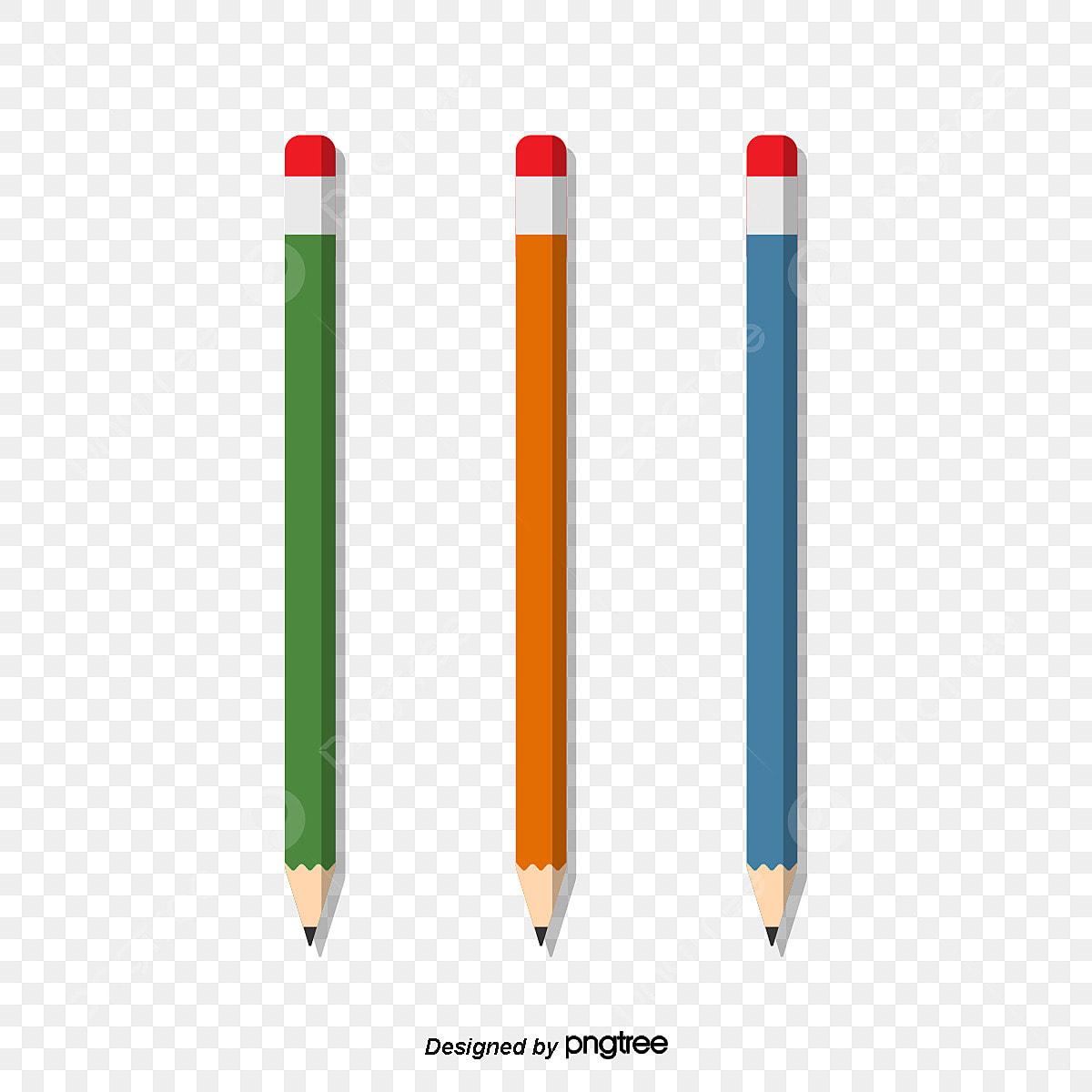 Bút Chì Màu 3 Chiều Dài đẹp Kết Hợp Cây Bút Chì Bút Chì Dài