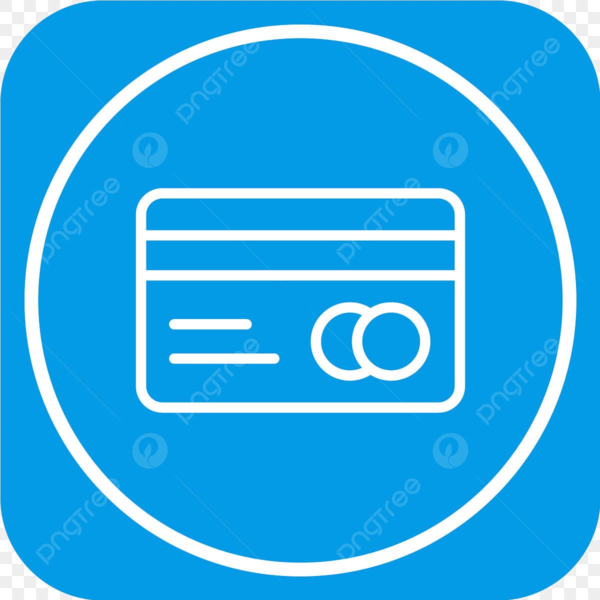 Vector Kreditkarte Symbol Hintergrund Schwarz Karte Png
