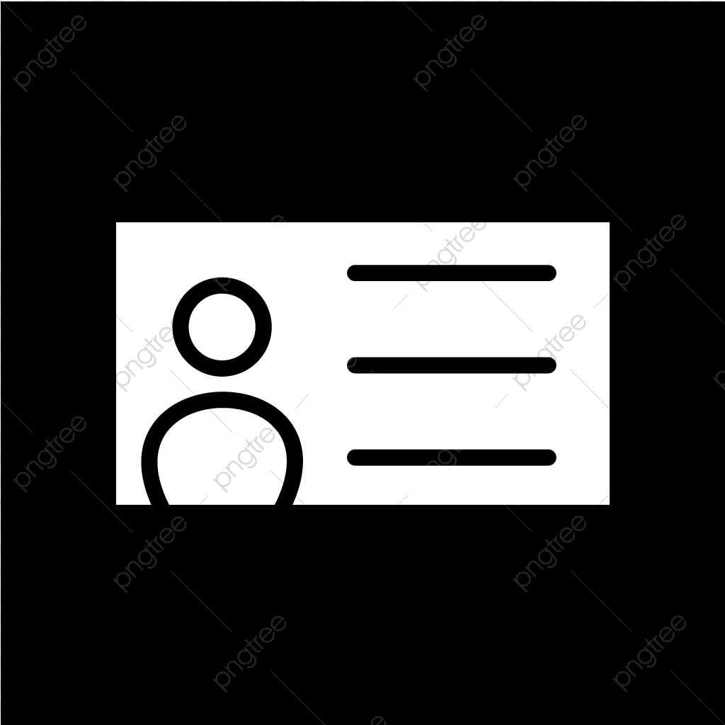 vector identity card icon card icons identity icons identity card icon png and vector with transparent background for free download https pngtree com freepng vector identity card icon 4254021 html