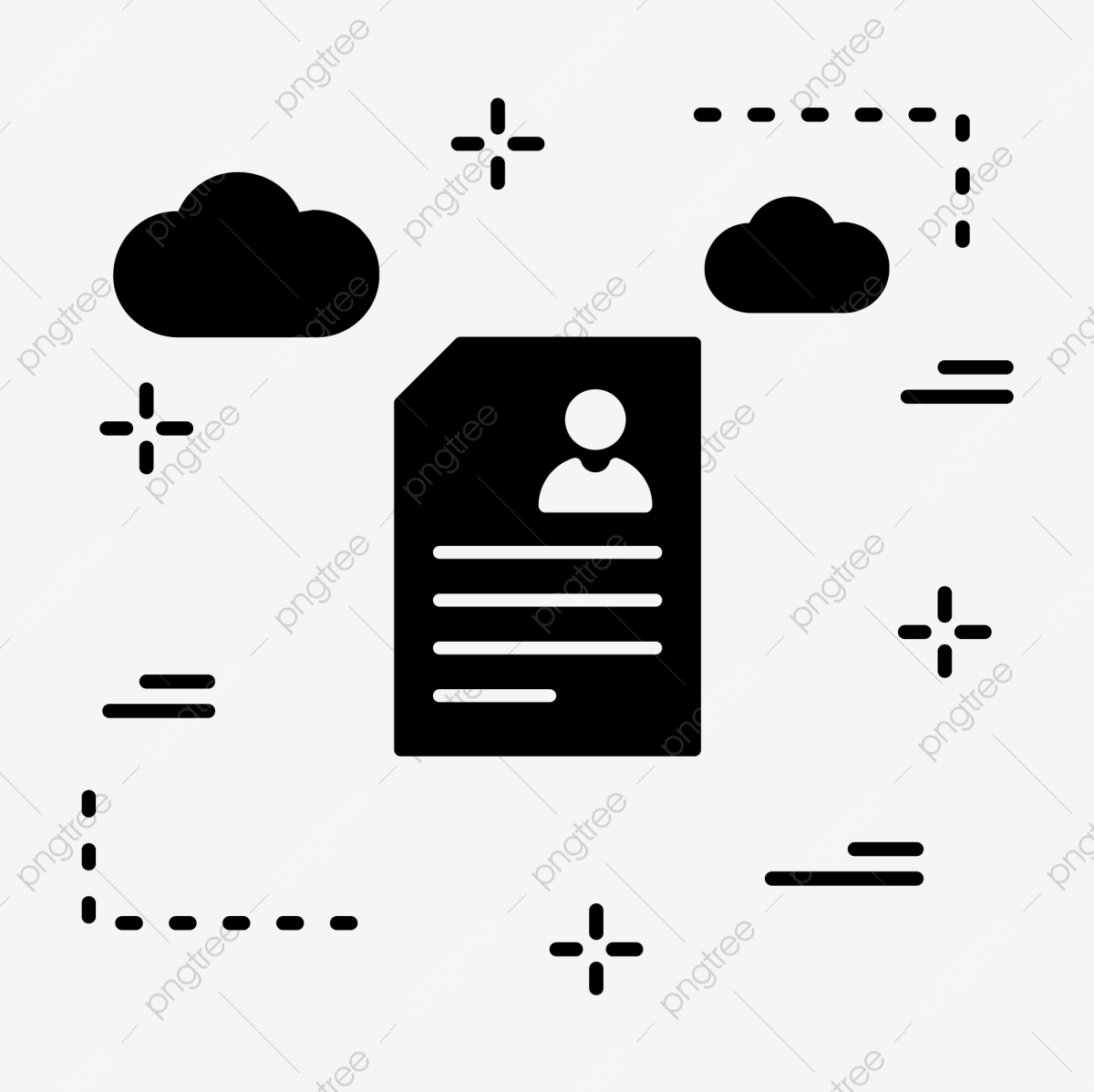 Vector Resume Icon Resume Icons Contract Cv Png And Vector With Transparent Background For Free Download