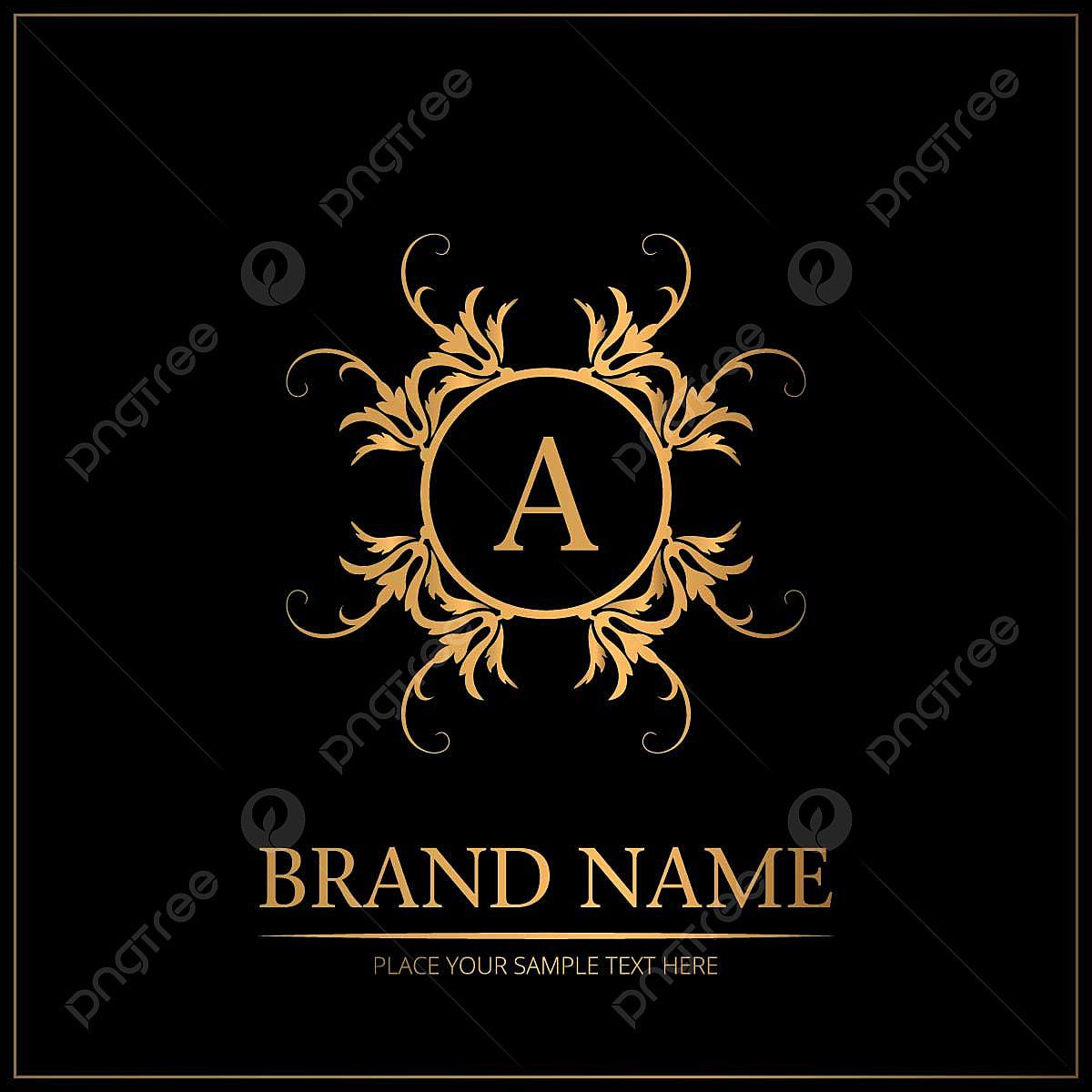 Hochzeitslogo Mit Markennamen Design, Logo Ikonen, Markensymbole ...