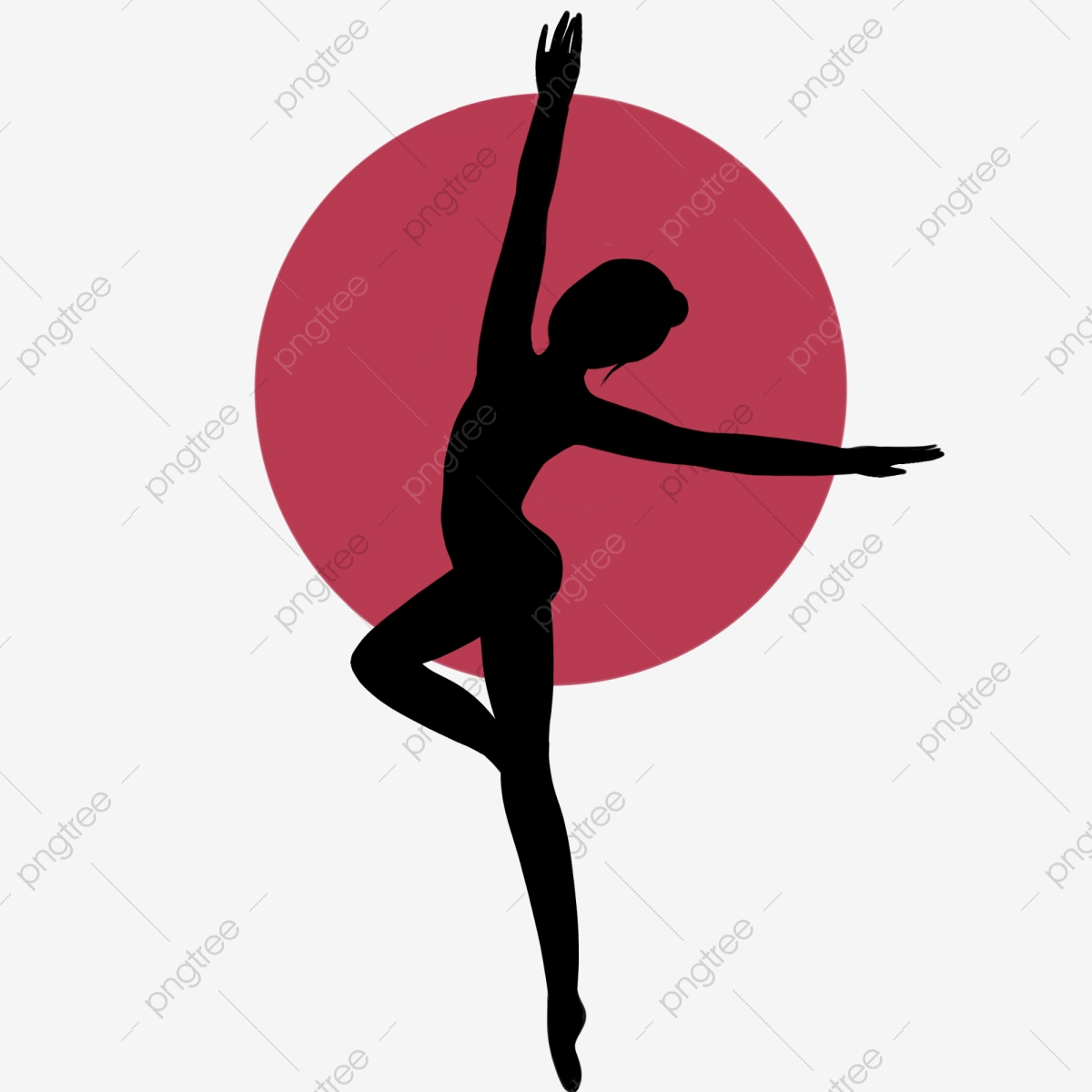 Woman Silhouette Yoga Pose Health Yoga Contour Png Transparent Clipart Image And Psd File For Free Download