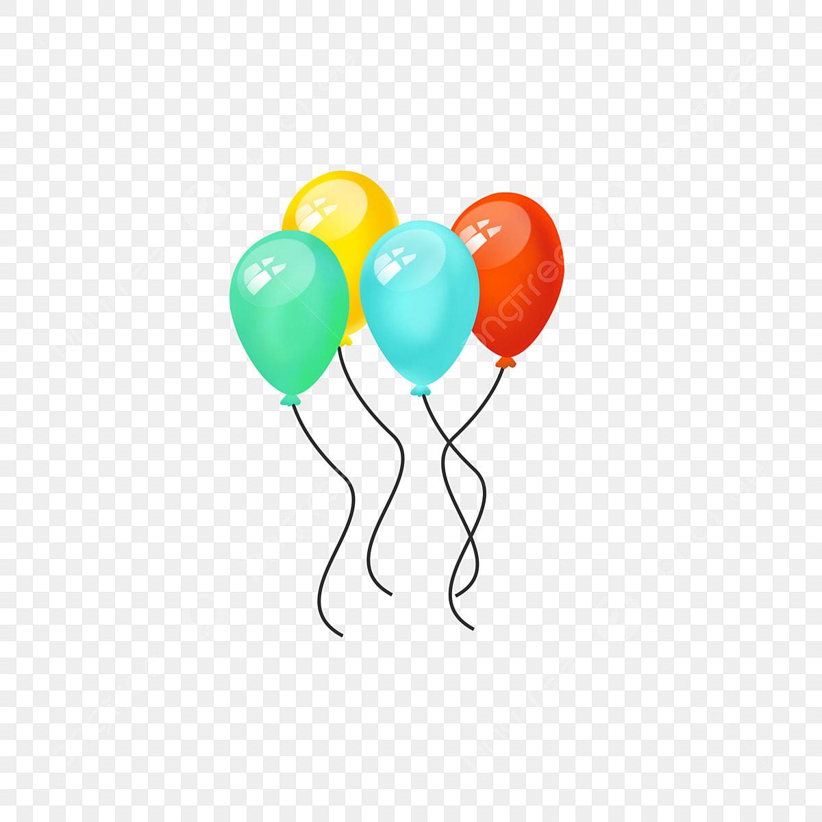 يوم كذبة أبريل بالون زخرفة عنصر يوم كذبة أبريل زخرفة بالون Png وملف Psd للتحميل مجانا