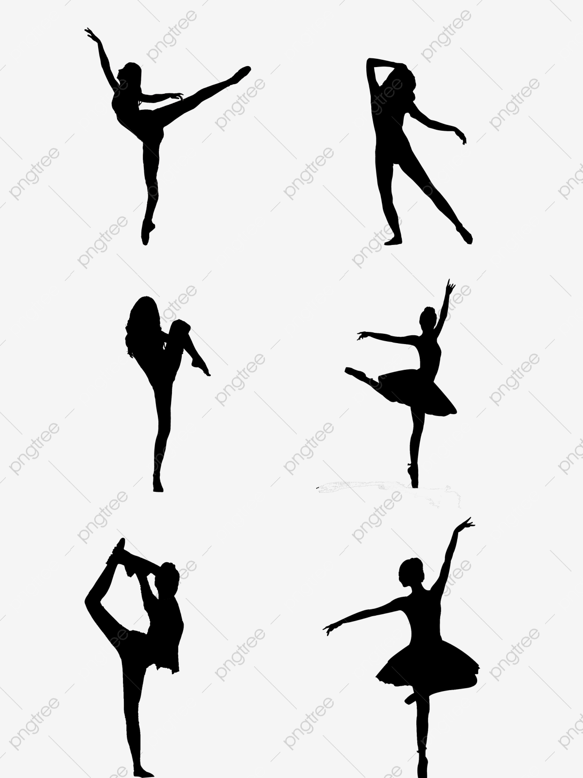 Black Female Dancing Silhouette Dancing Silhouette Female Png Transparent Clipart Image And Psd File For Free Download