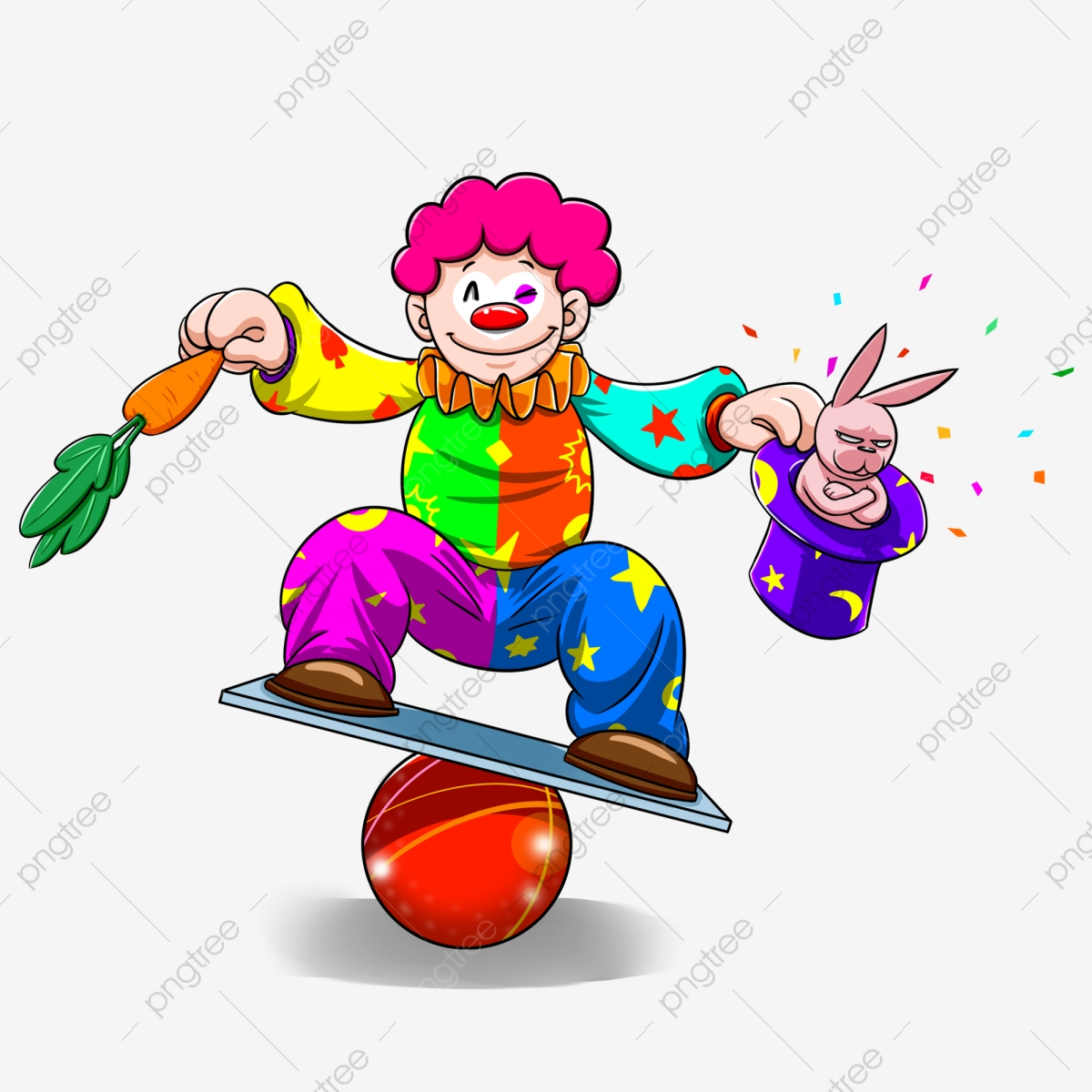 Dessin Anime Mignon Clown Poisson D Avril Clipart De Clown Dessin Anime Mignonne Fichier Png Et Psd Pour Le Telechargement Libre