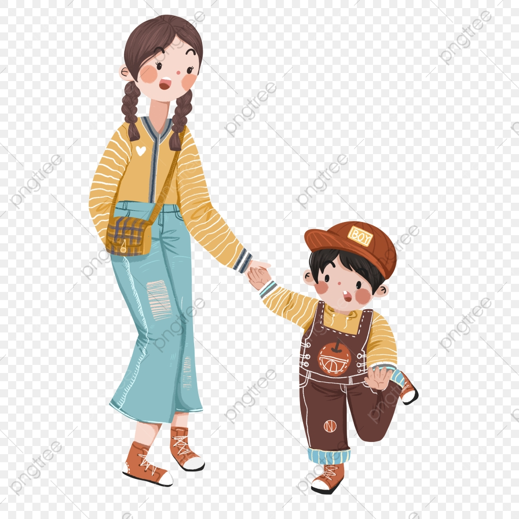 Mother And Son Png Images Vector And Psd Files Free Download On Pngtree