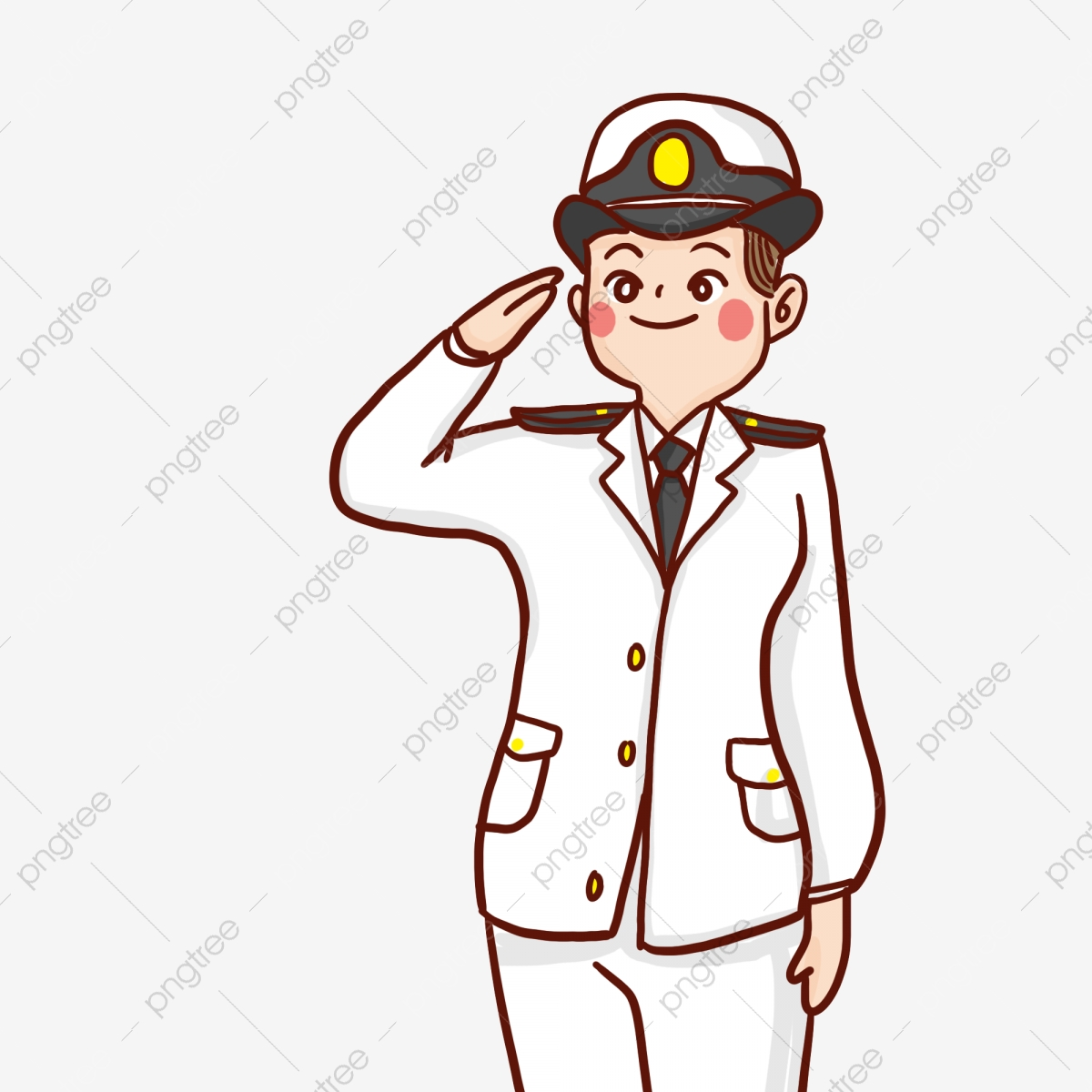 navy salute clipart - Clip Art Library