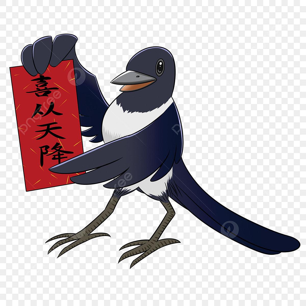 Gambar Tangan Ditarik Kartun Murai Hi Dari Syurga Burung Murai Syurga Png Dan Psd Untuk Muat Turun Percuma