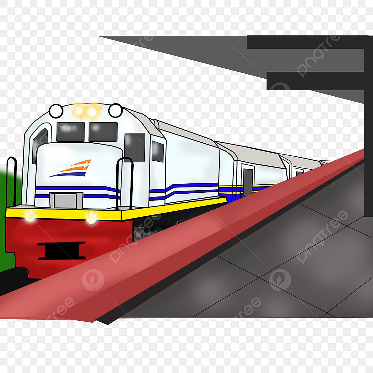 Gambar Kereta Api Kartun Berwarna Gambar Kereta Api Kartun Ikon Kereta Api Ikon Kartun Kereta Api Png Dan Psd Untuk Muat Turun Percuma