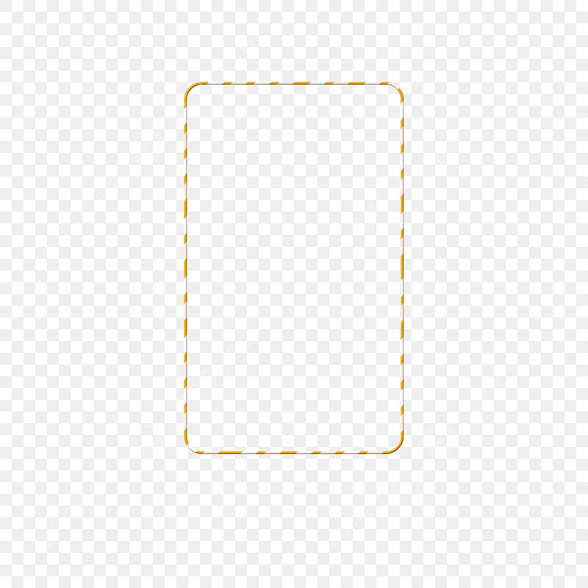 خطوط صفراء بسيطة مستطيلات حدود مواد تصميم مستطيلات خطوط صفراء بسيطة حدود Png وملف Psd للتحميل مجانا