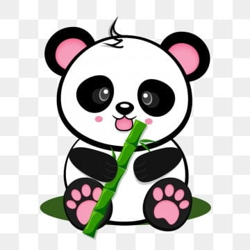 pngtree cartoon baby panda png image 1541697