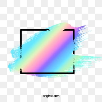 holographic  brush border, Fluorescence Color, Holographic Effect, Color PNG and PSD