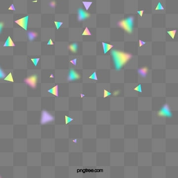 holographic  texture triangle color element, Color, Texture, Color Chip PNG and PSD