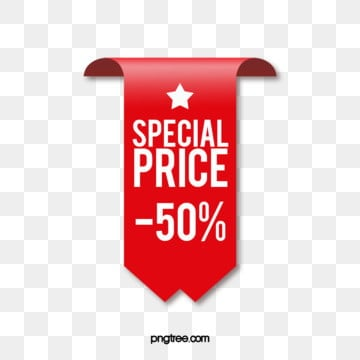 polygon geometry hot sale promotion label, Red Big Label, Listing Label, Geometric Minimalist Label PNG and PSD