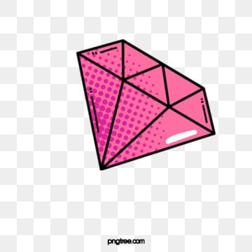 Diamond pink. Png vector psd and