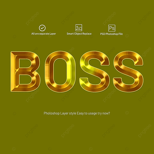 3d Gold Text Effects Photoshop Layer Style Art Font For Free