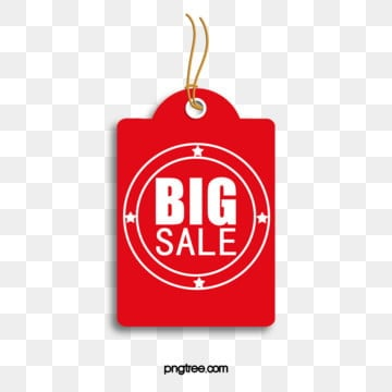 mall discount tag label icon, Tag Label, Red Big Label, Listing Label PNG and PSD