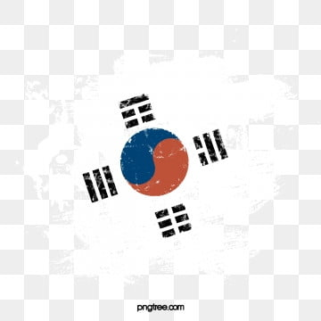 원래 한국 광후 축제 크리 에이 티브 브러쉬 플래그 요소, 오리지널, 손잡다, 편평하다 PNG 및 PSD