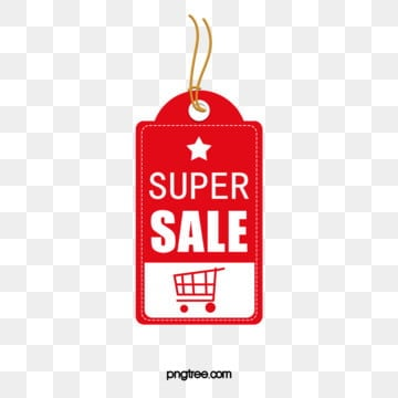 red shopping promotion tag, Promotional Labels, Shopping Label, Hot Sale Tag PNG and PSD