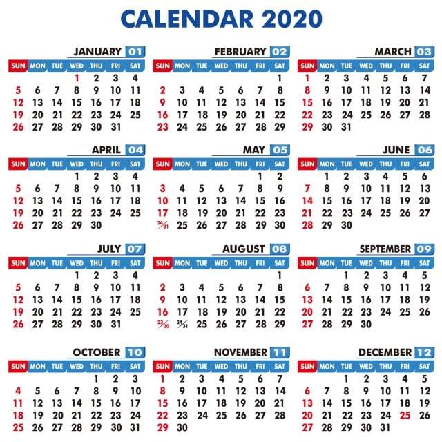 Calendario 2020 2020.Best Design Of Calendar 2020 2020 Calendar Calendar 2020