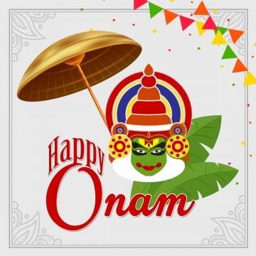 रंगीन में बधाई ओणम, खुश ओणम, बधाई, रंगीन पीएनजी और पीएसडी