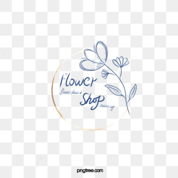 simple metal frame line flower shop icon, Simple, Florist, Reinforced Edging PNG and PSD