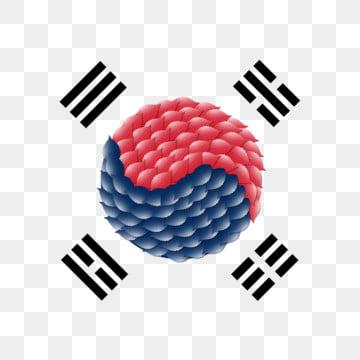 대한민국 깃발은 날개를 남긴다, 한국, 한국, 국기 PNG 및 PSD