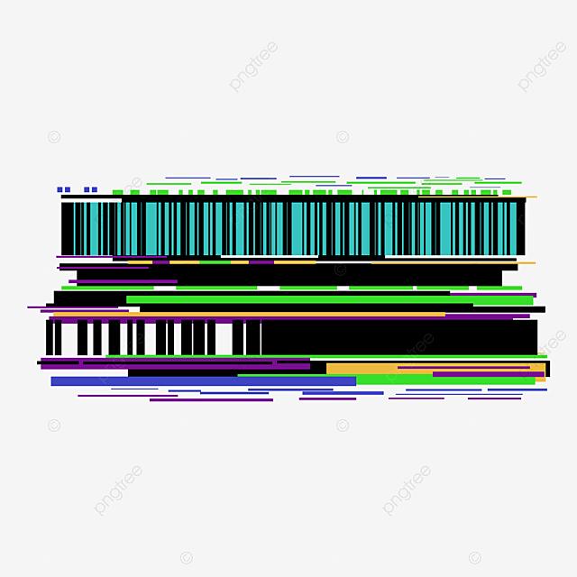 Fault Style Pixel Error TV Noise Geometric Border, Glitch, Pixel