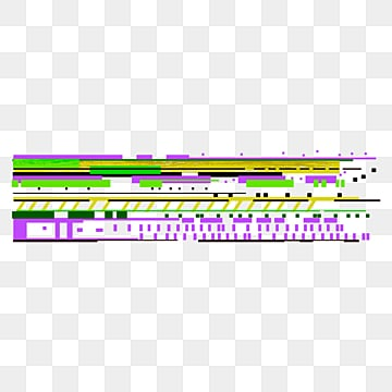faulty style pixel corrupted text border, Glitch, Pixel Damage, Weak Signal PNG and PSD